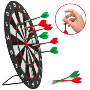 Soft Tip Darts and Dart Board Set for kids