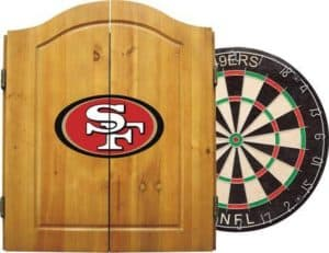 Imperial Officially Licensed NFL Merchandise: Dart Cabinet Set