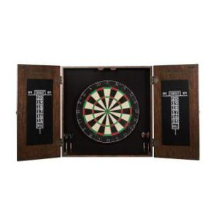 Barrington Premium Bristle Dartboard Cabinet Set