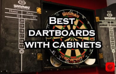 Best dartboard cabinet