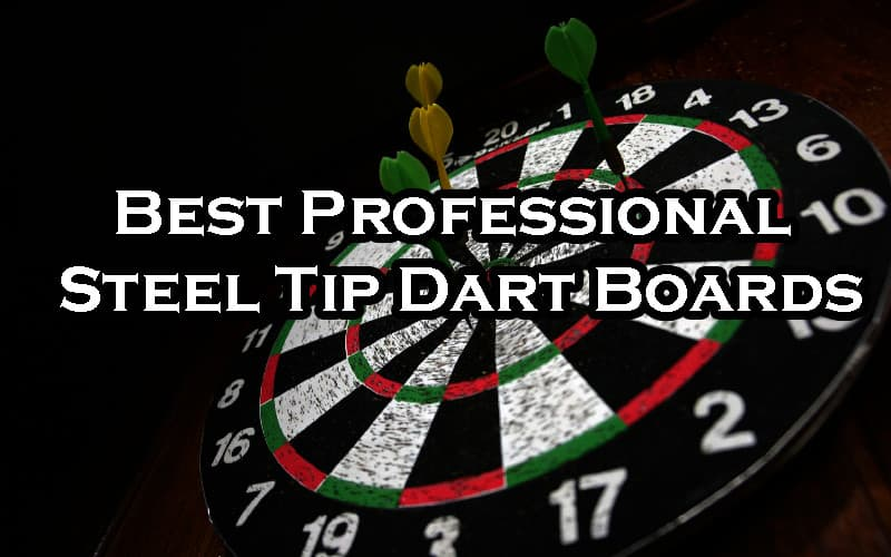 Best professional steel tip dart boards
