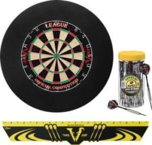 Viper Defender Backboard & Sisal Steel Tip Dartboard
