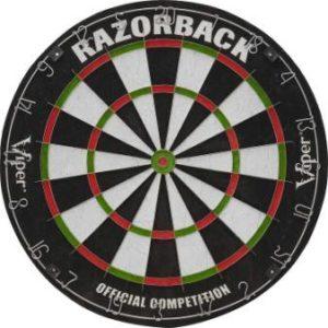 Viper Razorback Official Competition Bristle Steel Tip Dartboard
