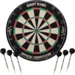 Viper Shot King Regulation Bristle Steel Tip Dartboard