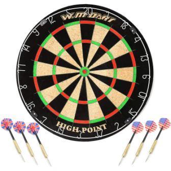 WIN.MAX 18 Bristle Dartboard
