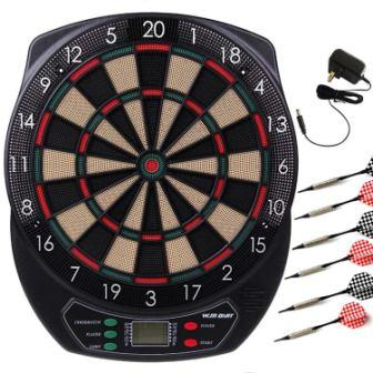 WIN.MAX Electronic Soft Tip Dartboard