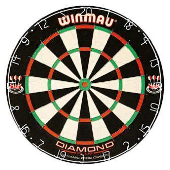 Winmau Diamond Plus professional Bristle Dartboard