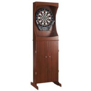 Centerpoint Solid Wood Free Standing Dartboard Cabinet