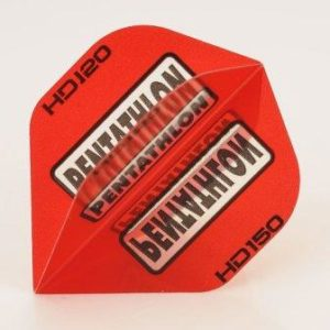 Pentathlon Pear RED Dart Flights