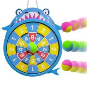 WEY&FLY Sticky Darts Board Set