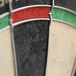 dart board close shot