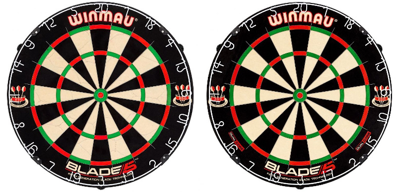Winmau Blade 5 and Blade 5 Dual Core